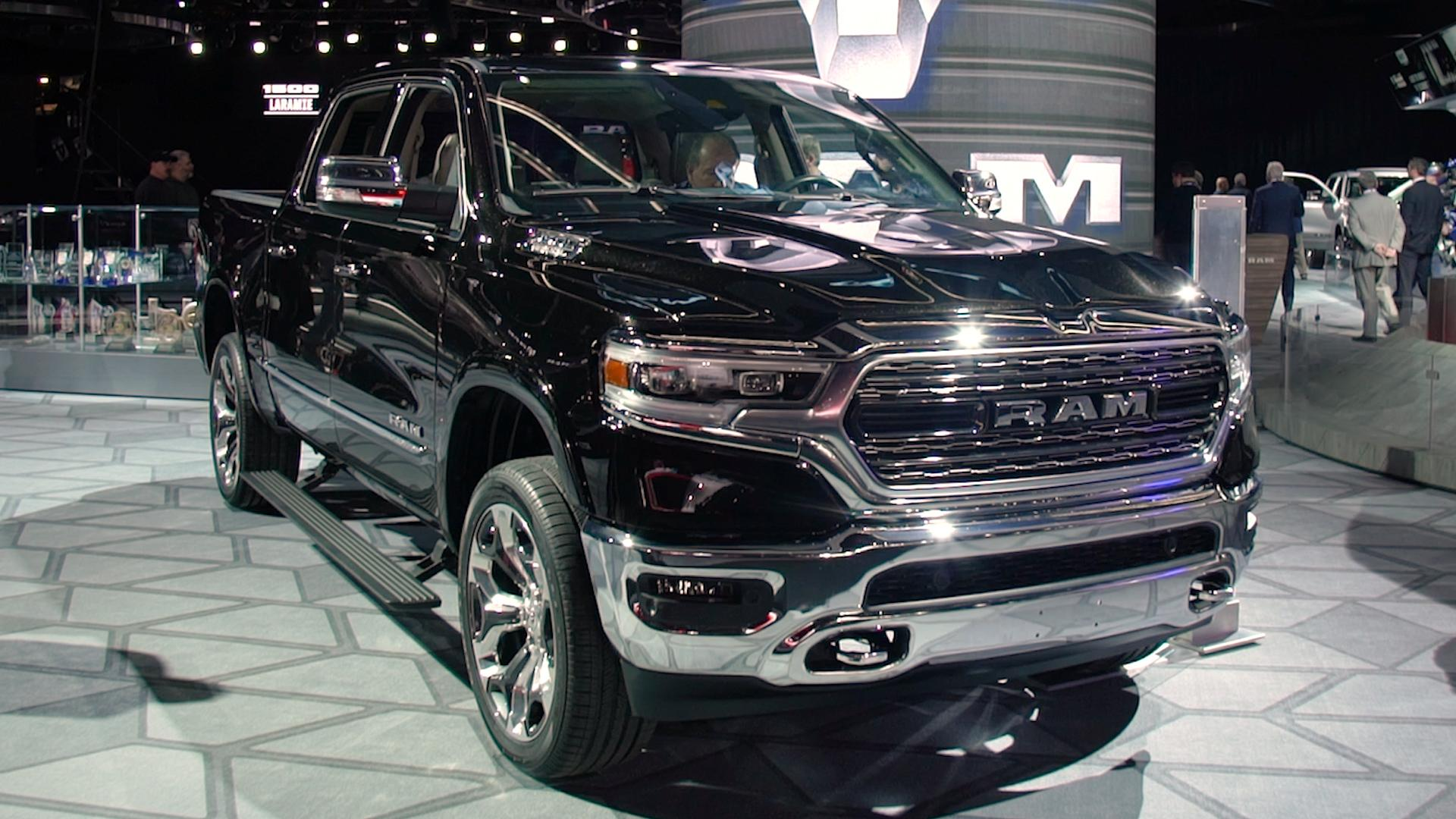 Redesigned 2019 Ram 1500 Gets Bigger And Lighter ...