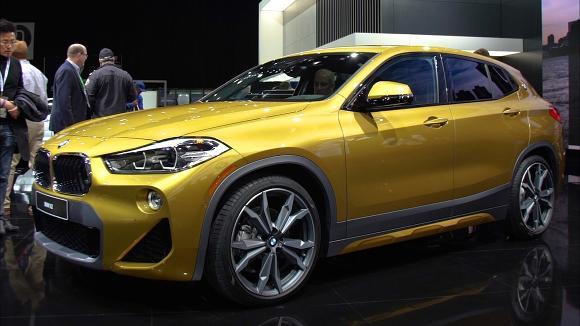 2018 Detroit Auto Show: 2018 BMW X2 is Small and Sporty