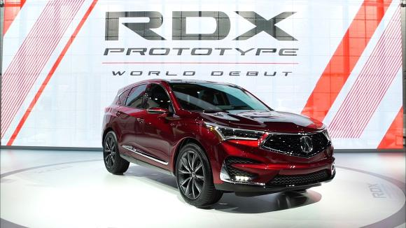 2018 Detroit Auto Show: 2019 Acura RDX Gains Advanced Safety and More Power