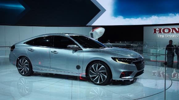 2018 Detroit Auto Show: 2019 Honda Insight Promises Big Fuel Economy