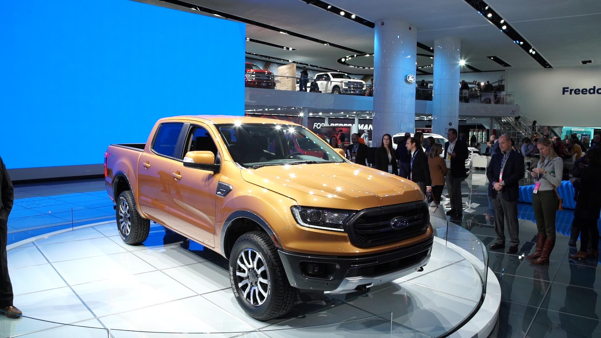 Ford Ranger Returns For Pickup Aims To Be CommuterFriendly - Auto ford