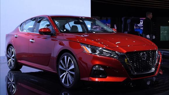 2018 New York Auto Show: 2019 Nissan Altima