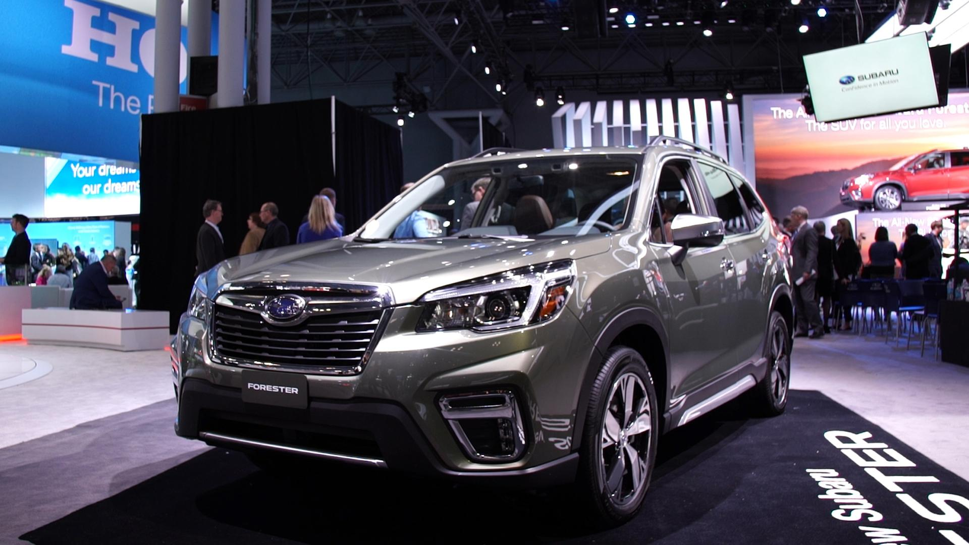 2018 New York Auto Show 2019 Subaru Forester