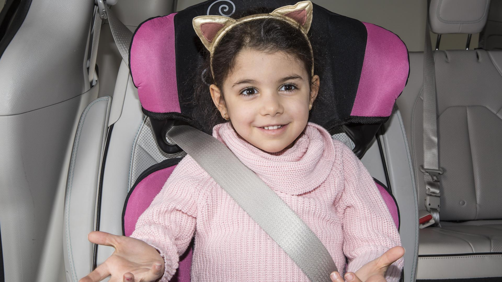 Carseat Pillow for Toddler Baby Head Support Safety Car Seat Head Fixing OK 01