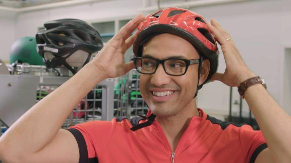 Inside CR's Bicycle Helmet Test Lab