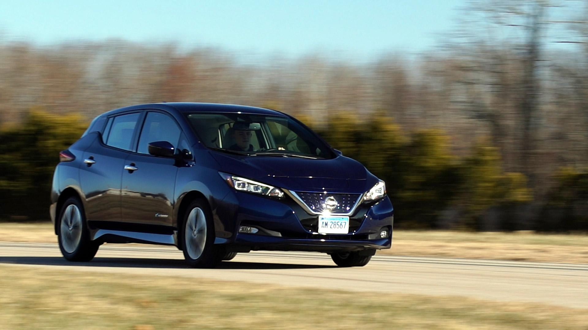 2018 Nissan Leaf First Drive Consumer Reports