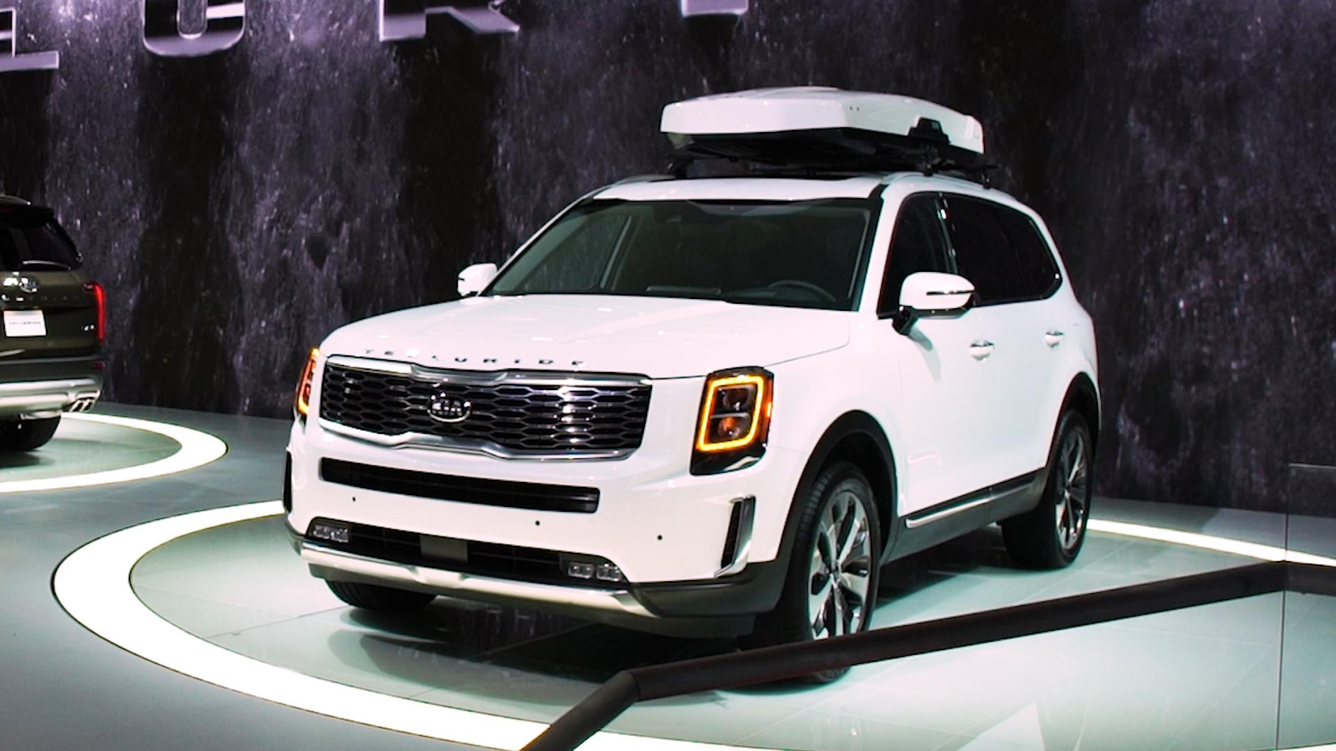 All New 2020 Kia Telluride Looks Big And Brawny Consumer Reports
