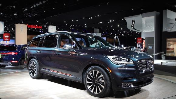2019 Detroit Auto Show: 2020 Lincoln Aviator