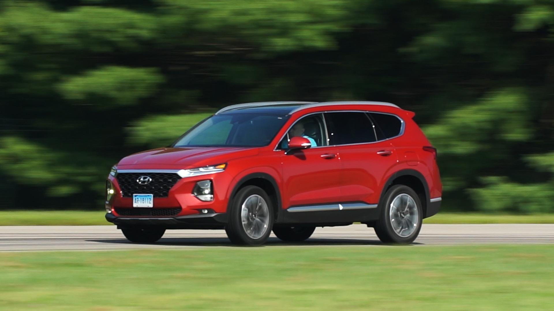 2019 Hyundai Santa Fe Review Consumer Reports