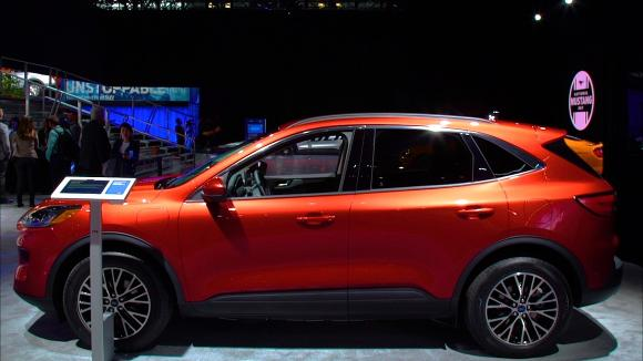 2019 New York Auto Show: 2020 Ford Escape