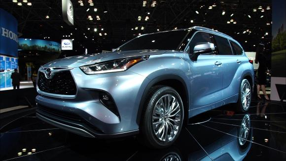 2019 New York Auto Show: 2020 Toyota Highlander