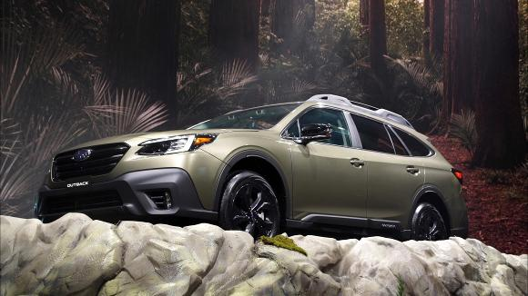 2019 New York Auto Show: 2020 Subaru Outback