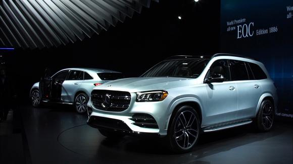 2019 New York Auto Show: 2020 Mercedes-Benz GLS