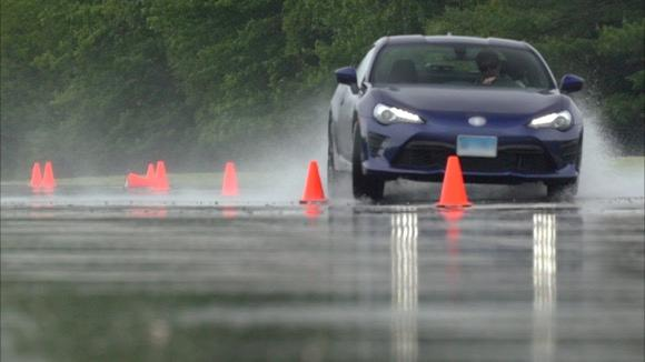 Wet Tire Testing at CR's Track