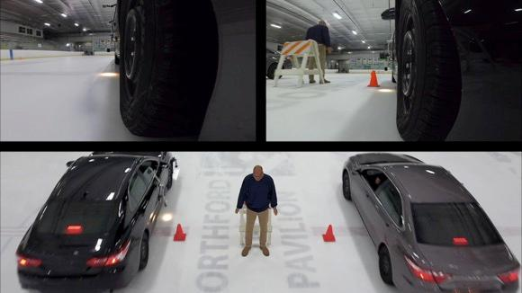 Tire Testing on Ice