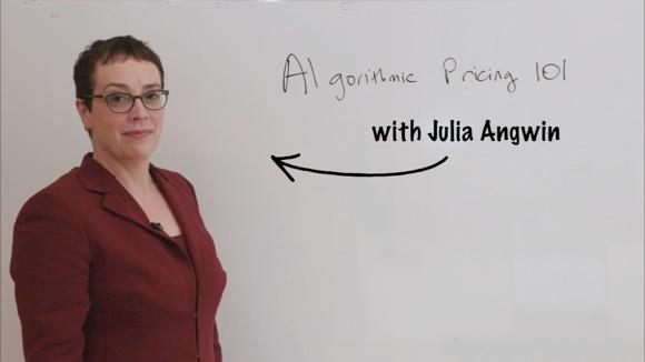 Algorithmic Pricing 101 With Julia Angwin