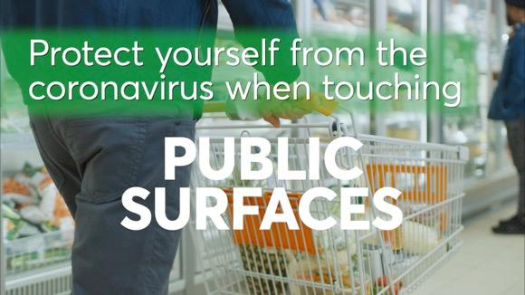 Protect Yourself from Coronavirus on Public Surfaces