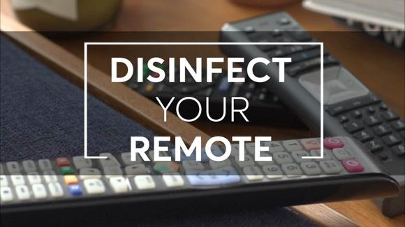 How to Disinfect Your Remote