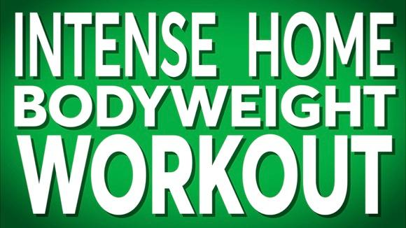 Intense Home Bodyweight Workout
