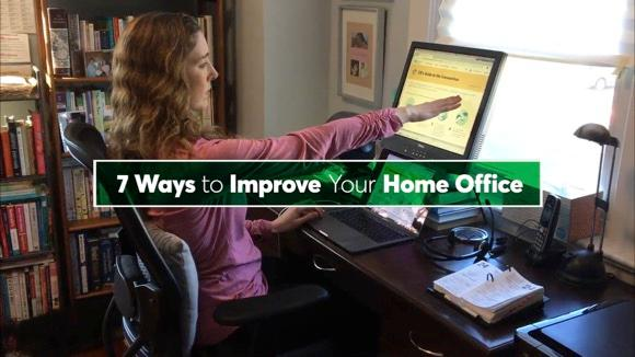 7 Ways to Improve Your Home Office