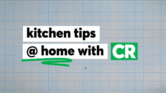 Kitchen Tips at Home with CR
