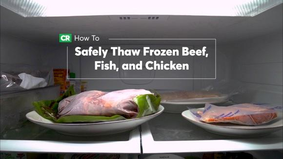 How To Safely Thaw Frozen Beef, Fish, and Chicken