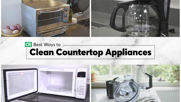 Best Ways to Clean Countertop Appliances