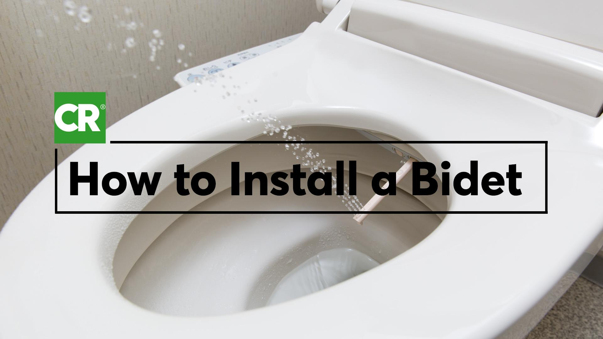 How To Install A Bidet Seat Consumer Reports