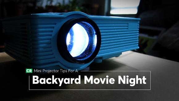 Mini Projector Tips for a Backyard Movie Night
