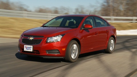 2013 Chevrolet Cruze Reviews, Ratings, Prices - Consumer Reports