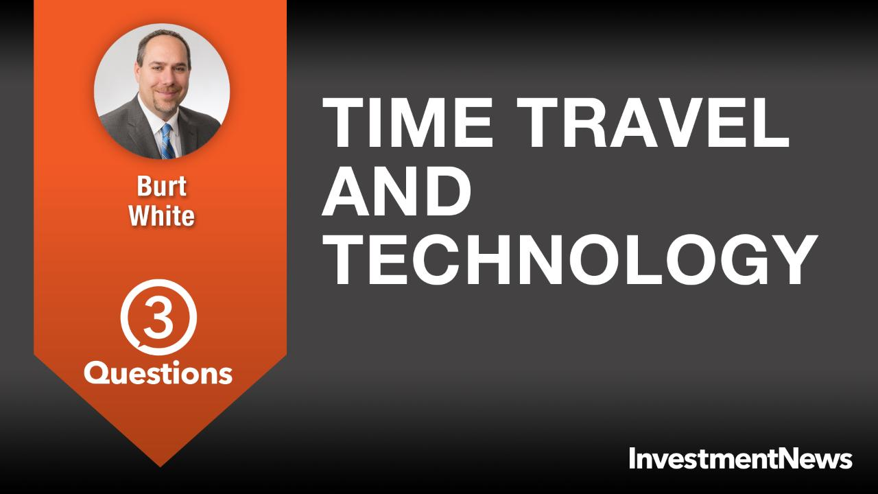 3 Questions: Burt White on time travel and technology