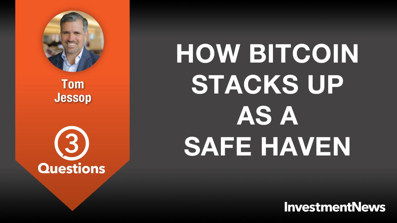 How Bitcoin stacks up as a safe haven