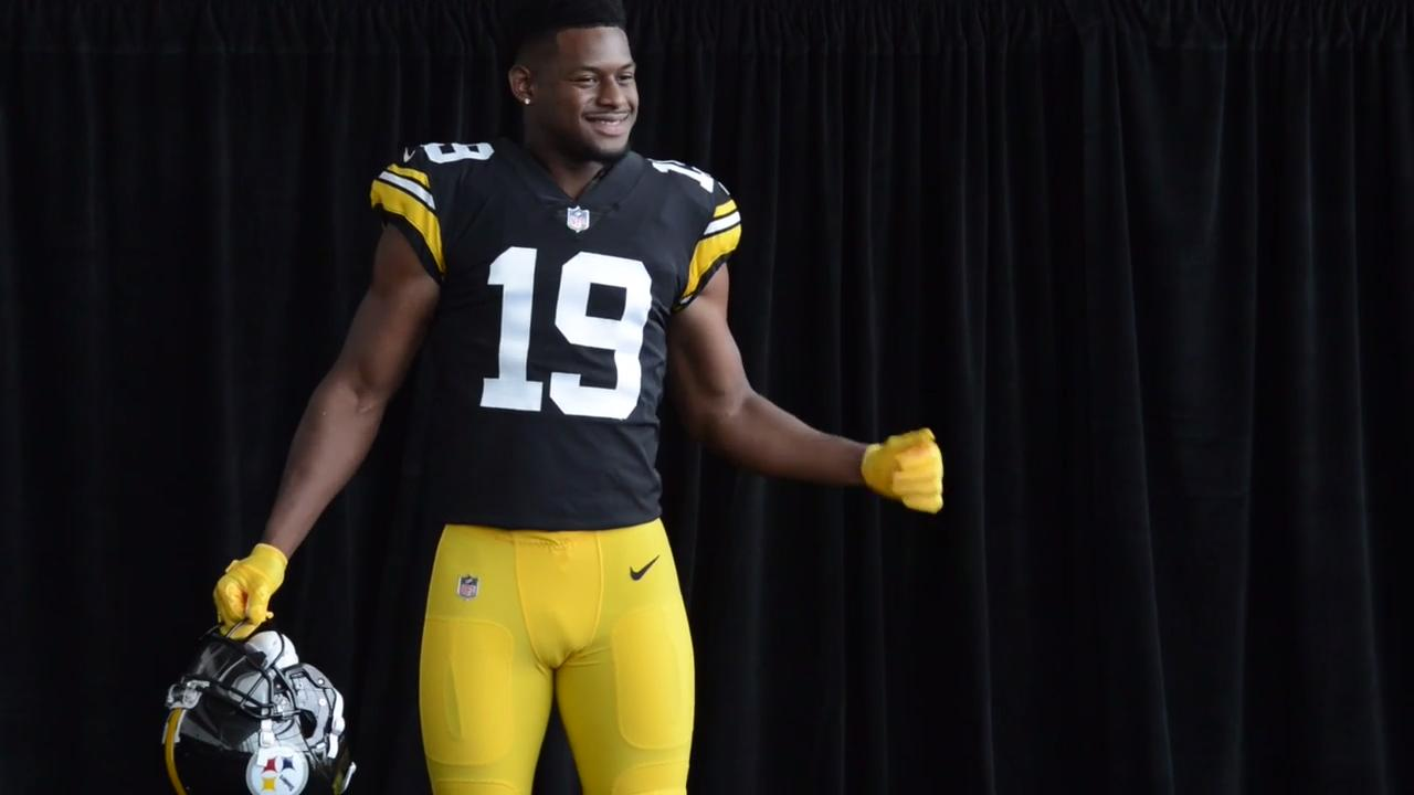 Check out the Steelers  new throwback jerseys  1bc183475
