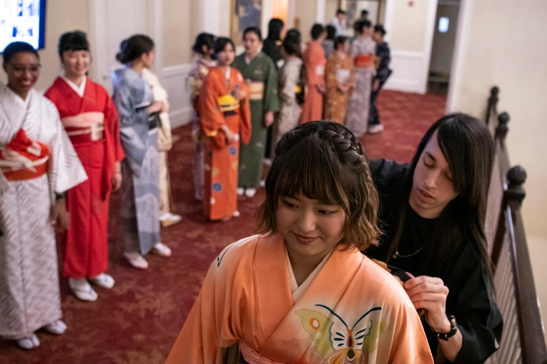 "The start of adulthood | Japanese ""Coming-of-Age"" ceremony at Pitt"