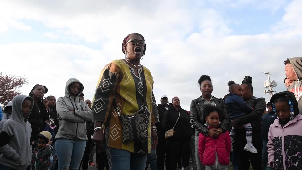 Friends and family gather in Clairton to mourn Armani Ford