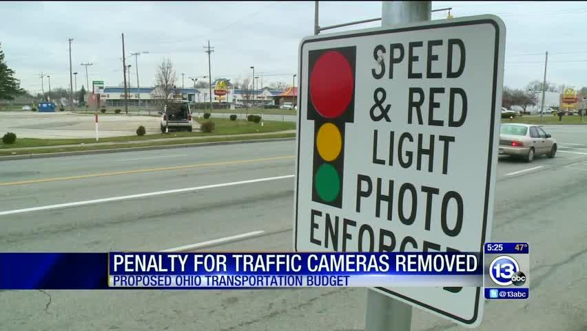 Penalty for Toledo's traffic cameras stripped from state