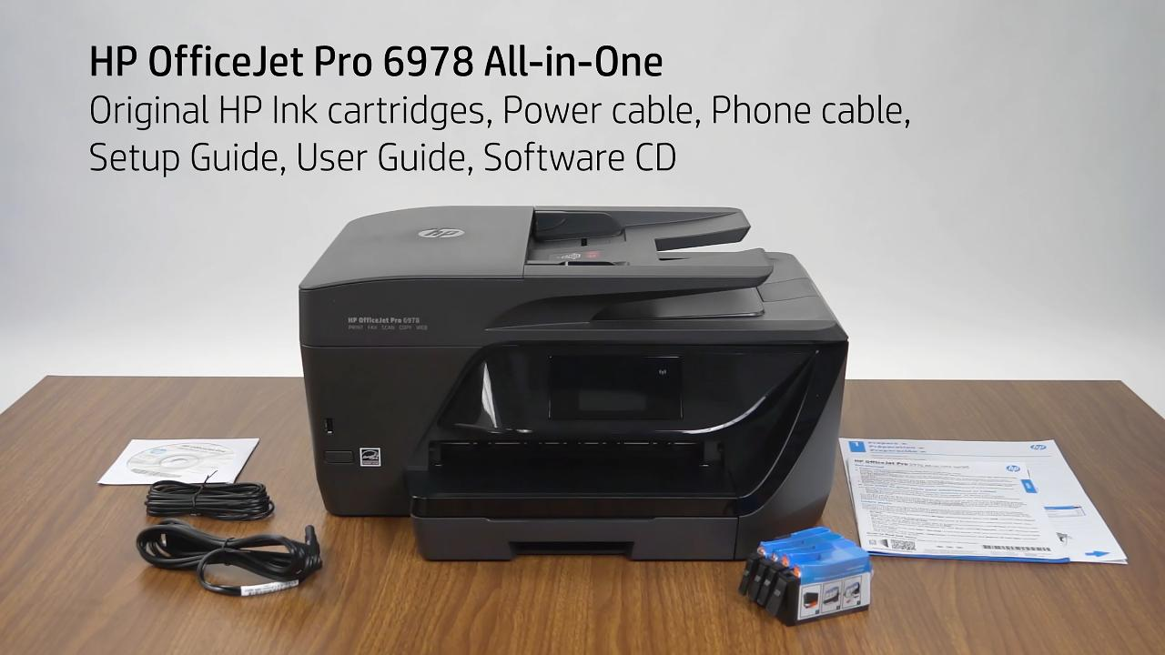 HP OfficeJet Pro 6978 All-in-One Printer | HP® Canada