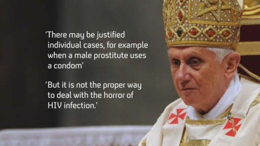 Pope and condom use