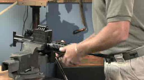 Installing Free Float Handguards With A Standard Front Sight Base