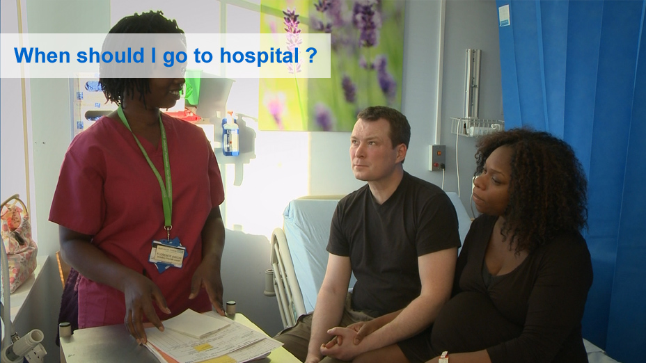 At the hospital or birth centre - NHS