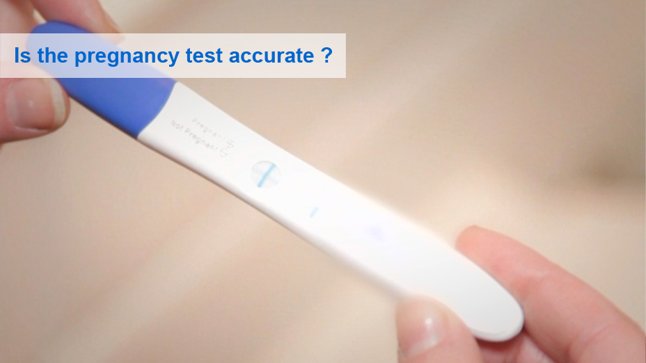 Doing a pregnancy test - NHS