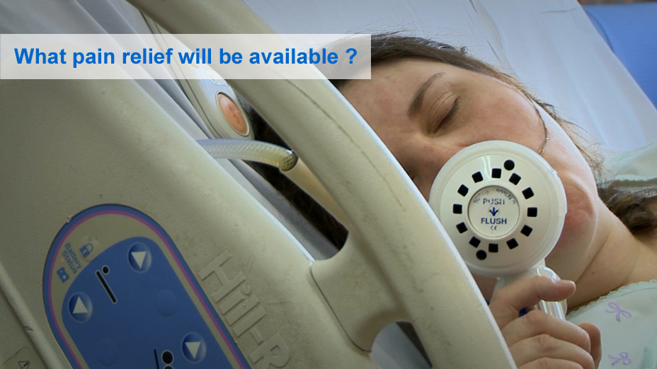Pain relief in labour - NHS