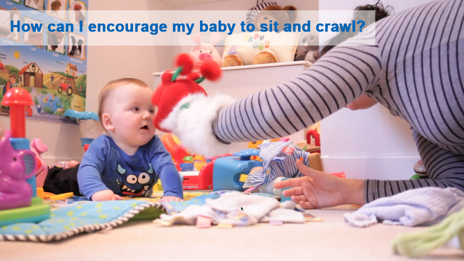 Nhs Videos What Can I Do To Encourage My Baby To Sit And Crawl Nhs