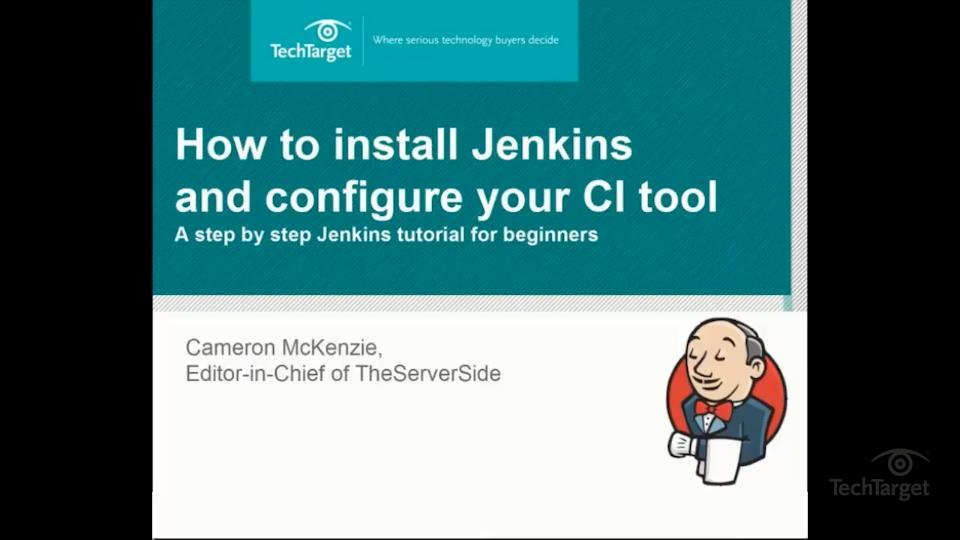 How to create CI builds with the Jenkins freestyle project