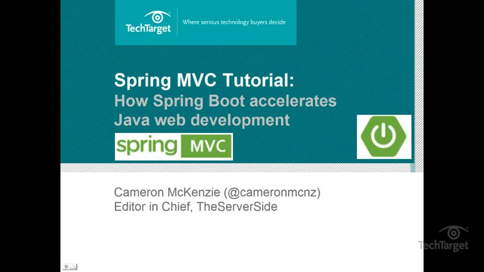 Spring MVC tutorial: How Spring Boot web MVC makes Java app