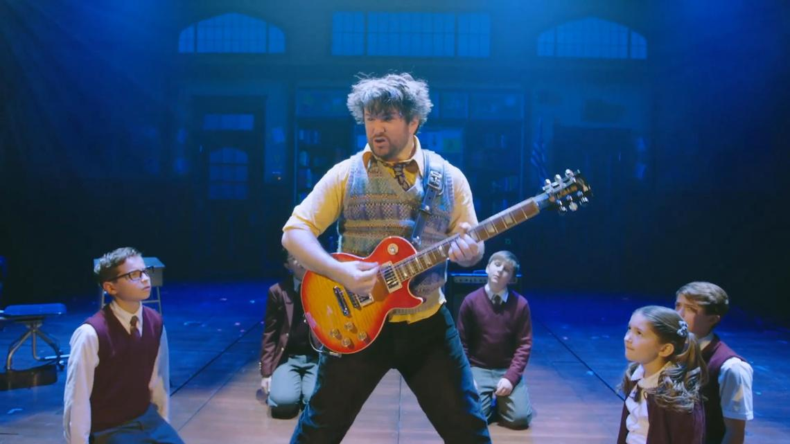 School Of Rock The Musical Broadway Tickets Broadway