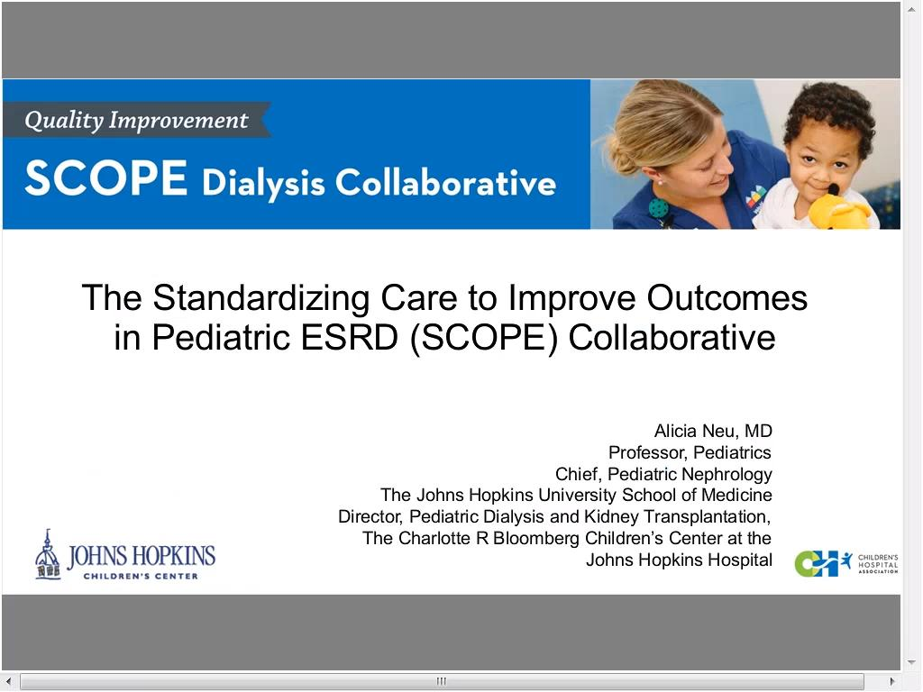 Videos: SCOPE Collaborative Overview and Findings