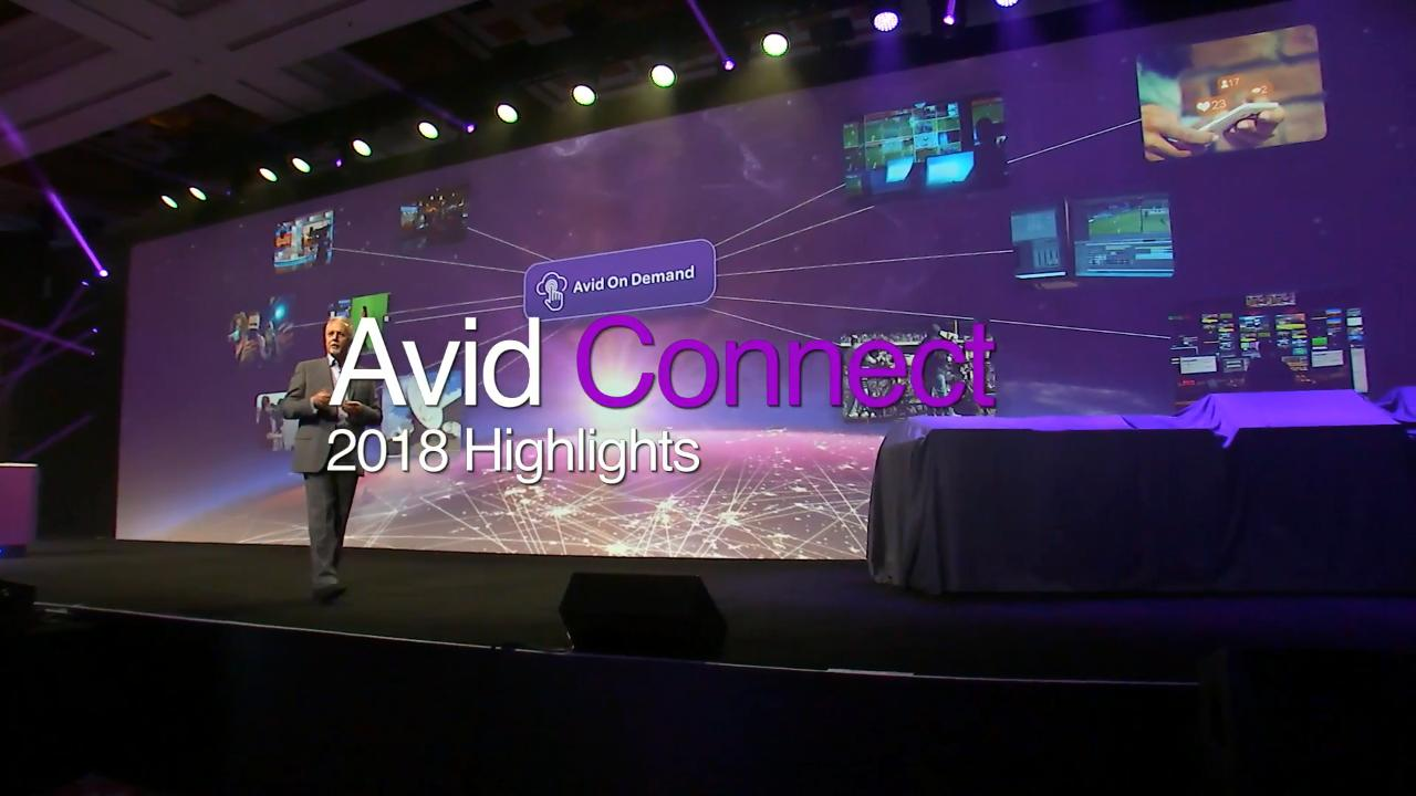 Avid Connect 2018 video