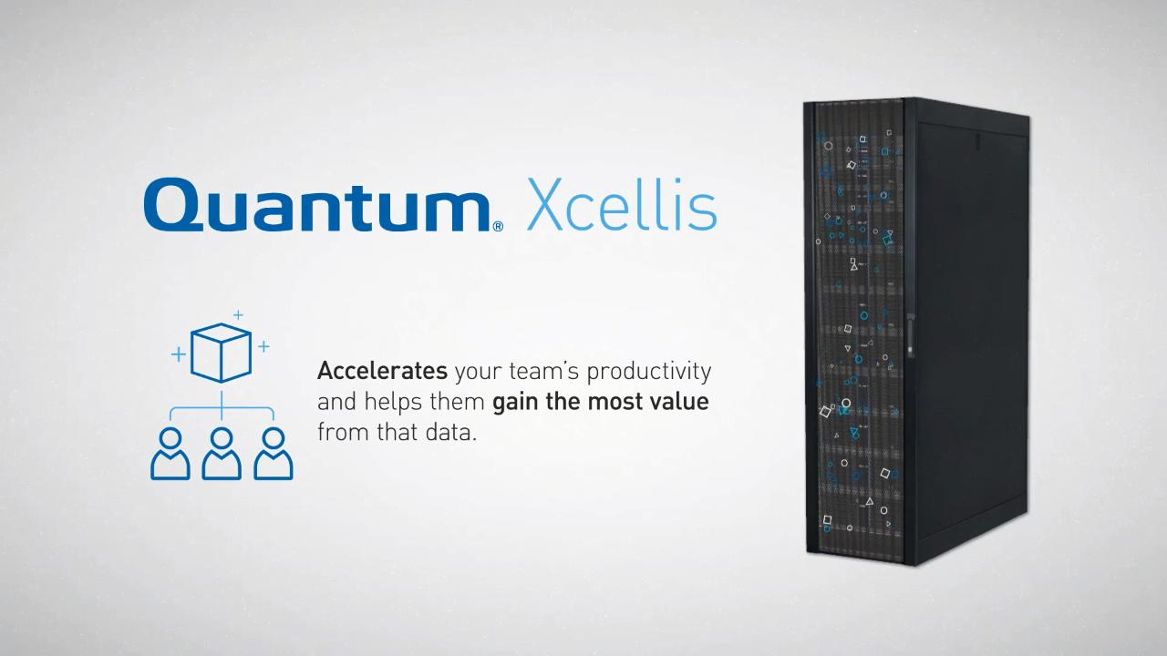 Xcellis High-Performance Shared Storage | Quantum