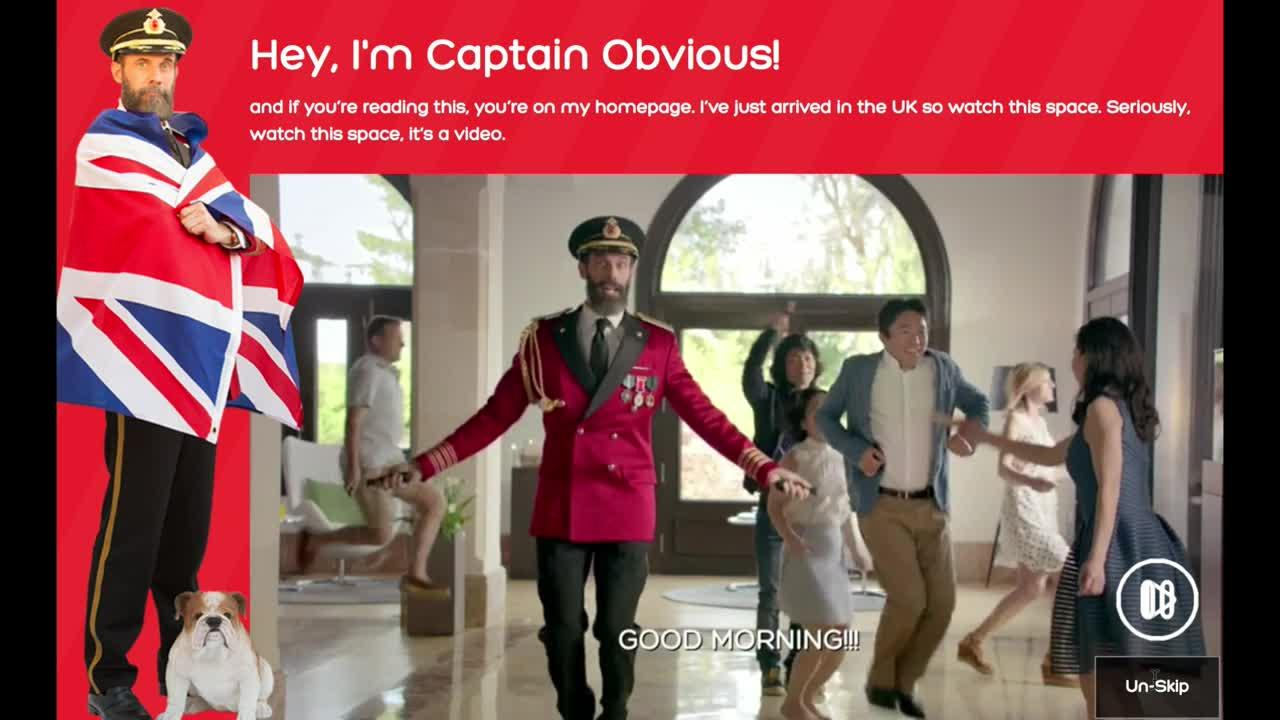 Captain Obvious: where did it come from and who is it